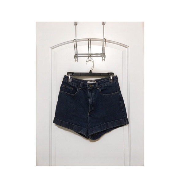 American Apparel Pants - American Apparel high waisted denim shorts